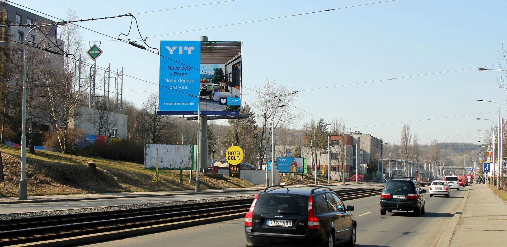 YIT and extensive campaign all over Prague